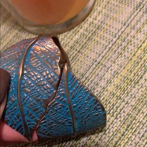Two leaves  bracelet